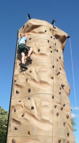 Andrew climbs!